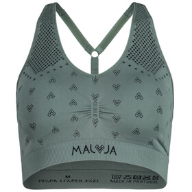 Maloja ValladaM. Sujetador Deportivo Mujer, cypress